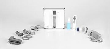Ecovacs Robotics Winbot 850 Fensterputzroboter, flexible und sichere Reinigung, Fernbedienung, 75 Watt, weiß - 6