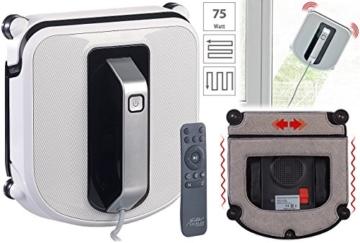 Sichler Haushaltsgeräte Fensterroboter: Profi-Fensterputz-Roboter mit Vibrationsreinigung und Fernbedienung (Fenstersaugroboter) - 2