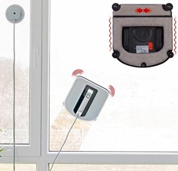 Sichler Haushaltsgeräte Fensterroboter: Profi-Fensterputz-Roboter mit Vibrationsreinigung und Fernbedienung (Fenstersaugroboter) - 8