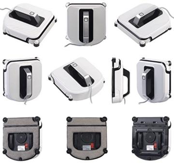 Sichler Haushaltsgeräte Fensterroboter: Profi-Fensterputz-Roboter mit Vibrationsreinigung und Fernbedienung (Fenstersaugroboter) - 9