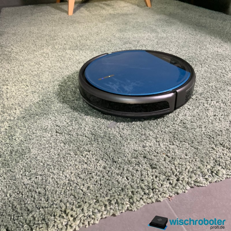 Proscenic 811GB auf Teppichböden