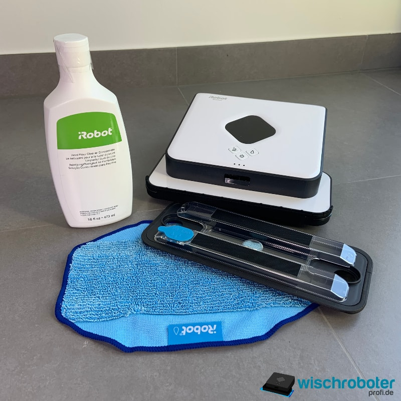 iRobot Braava 390t Reinigungsmittel