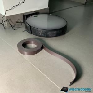 Magnetband Saugroboter