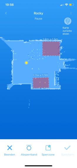 Roborock S5 Nogo Zones
