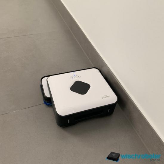 iRobot Braava 390t Kantenreinigungsmodus