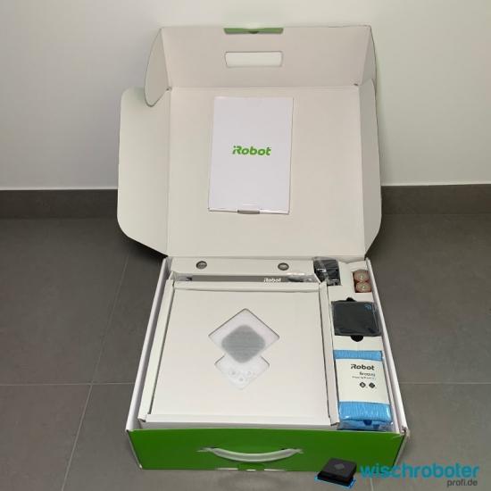 iRobot Braava 390t Unboxing