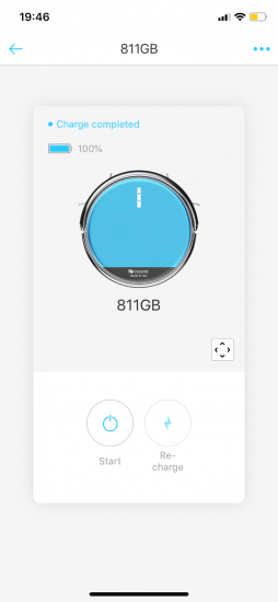 Proscenic 811GB per App steuern